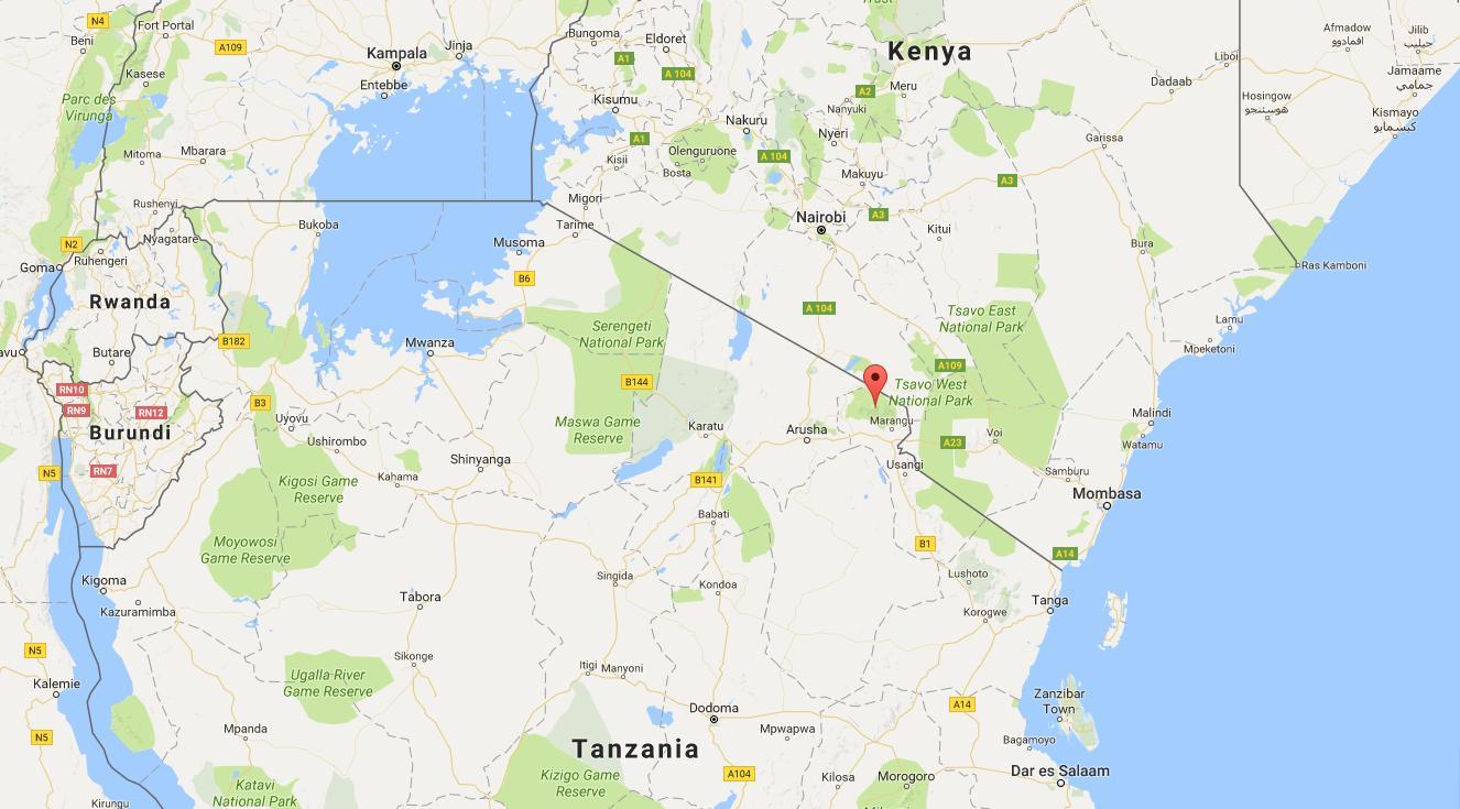 Kenia Auf Der World Map Weltkarte Kenia Ost Afrika Afrika